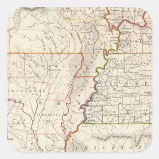 Missouri, Ill, Ky, Tenn, Ala, Miss, Ark Stickers