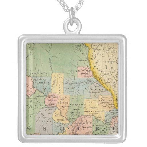 Missouri, Illinois Collar Personalizado