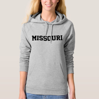 Missouri Jersey Font Black.png Hoodie