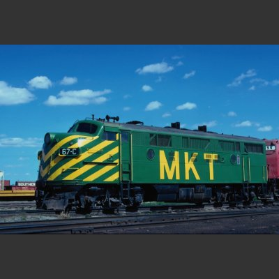 Missouri-Kansas-Texas Railroad EMD F-3a No. 67C, P pins