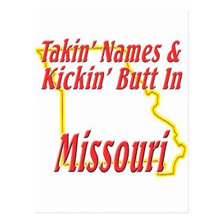 Missouri - Kickin' Butt Postcard