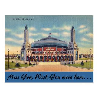 Missouri, la arena, St. Louis Postales
