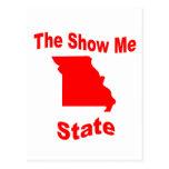 Missouri: La demostración yo estado Postal