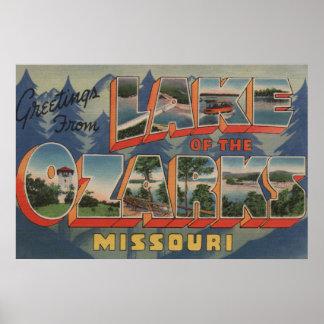 Missouri - lago del Ozarks 2 Posters