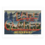 Missouri - lago del Ozarks Postales