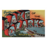 Missouri - lago del Ozarks Póster