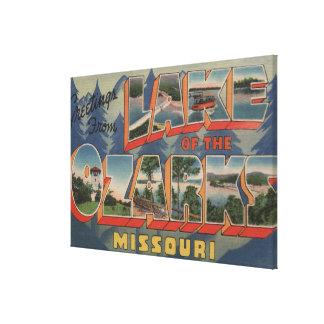 Missouri - Lake of the Ozarks 2 Canvas Print