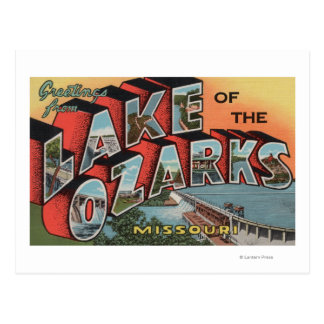 Missouri - Lake of the Ozarks 2 Postcard