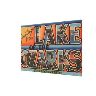 Missouri - Lake of the Ozarks 3 Canvas Print