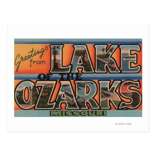 Missouri - Lake of the Ozarks 3 Post Card
