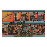Missouri - Lake of the Ozarks 3 Poster