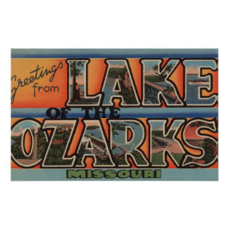 Missouri - Lake of the Ozarks 3 Poster
