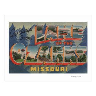 Missouri - Lake of the Ozarks Postcard