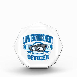 Missouri Law Enforcement Officer Handcuffs Award