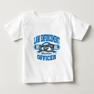 Missouri Law Enforcement Officer Handcuffs Baby T-Shirt