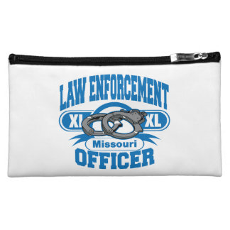 Missouri Law Enforcement Officer Handcuffs Cosmetic Bag