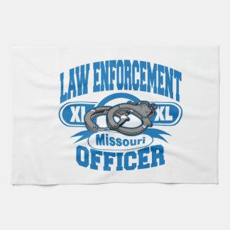 Missouri Law Enforcement Officer Handcuffs Towel