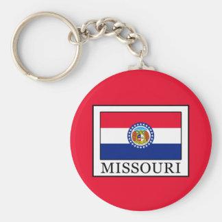 Missouri Llavero Redondo Tipo Pin
