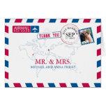 Missouri los E.E.U.U. y boda BRITÁNICO del correo Tarjeta Pequeña