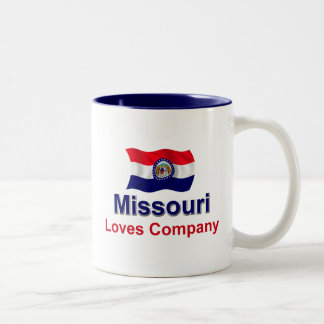 Missouri Loves Company Two-Tone Coffee Mug