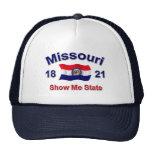 Missouri me muestra el estado gorros bordados