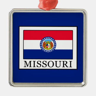 Missouri Metal Ornament