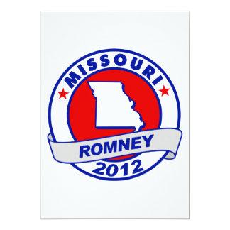 Missouri Mitt Romney 5x7 Paper Invitation Card