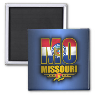 Missouri (MO) 2 Inch Square Magnet