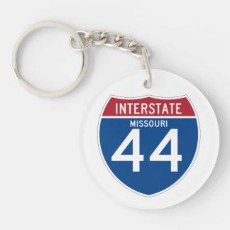 Missouri MO I-44 Interstate Highway Shield - Keychain