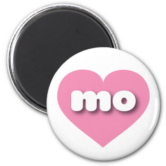 Missouri mo pink heart magnets