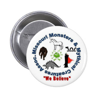 Missouri Monsters & Mythical Creatures Logo Button