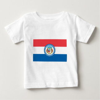 MIssouri Official State Flag Baby T-Shirt