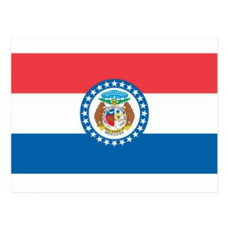 MIssouri Official State Flag Postcard