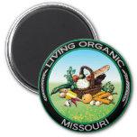 Missouri orgánico iman para frigorífico