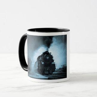 Missouri Pacific Steam Passenger Cyan 4 Mug