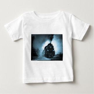 Missouri Pacific Steam Passenger Cyan Baby T-Shirt