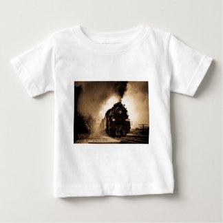 Missouri Pacific Steam Passenger Sepia Baby T-Shirt