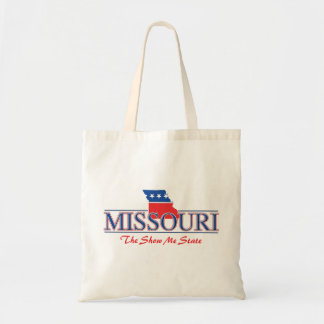 Missouri Patriotic Budget Tote Bag