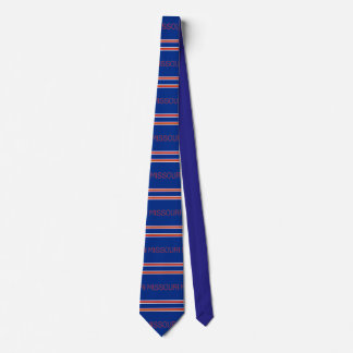 Missouri Patterned Striped Tie