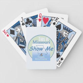 MISSOURI PLAYING CARDS