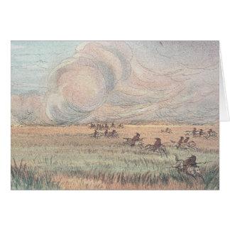 Missouri prairie fire card