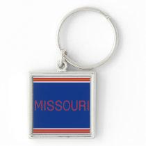 Missouri Premium Square Keychain