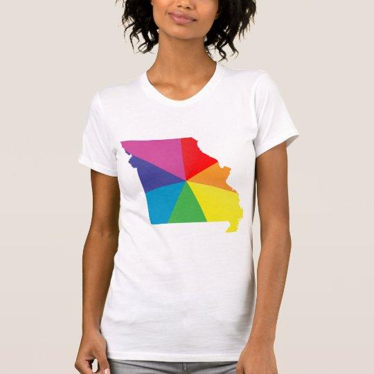 missouri pride. angled. T-Shirt