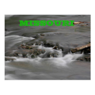 Missouri River Water POST CARD