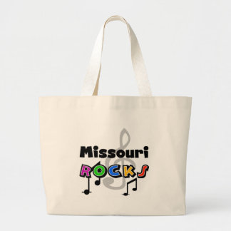Missouri Rocks Canvas Bag