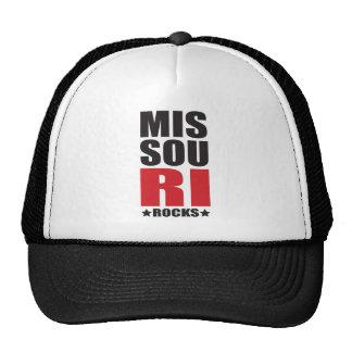 MISSOURI Rocks! State Spirit Gifts and Apparel Trucker Hat