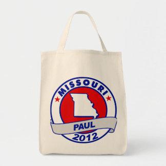 Missouri Ron Paul Canvas Bag