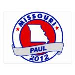 Missouri Ron Paul Post Card