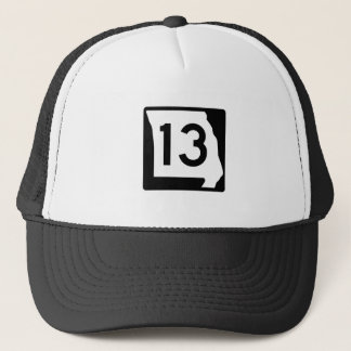 Missouri Route 13 Trucker Hat