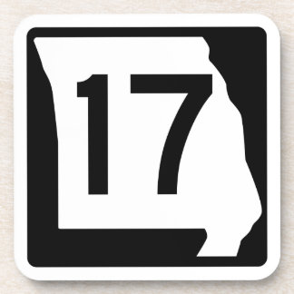 Missouri Route 17 Beverage Coaster